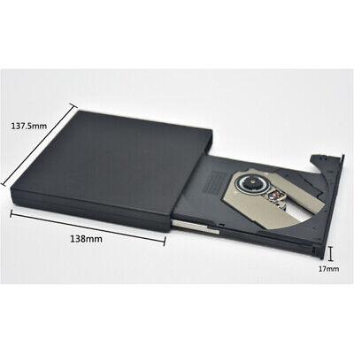 Lettore Masterizzatore CD DVD Esterno Portatile USB per Notebook PC Computer 8