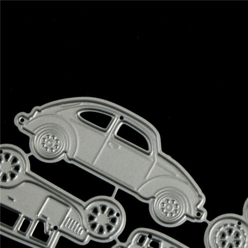 4pcs Classic Cars Metal Cutting Dies For DIY Scrapbooking Album Paper Card Cw 5