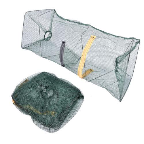 Trampa de cebo de pesca Dip de fundición Jaula de red Cangrejo Pez PescadoGK 4