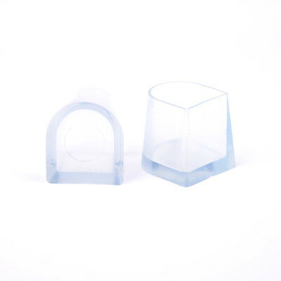 1-5 Pairs Clear Wedding High Heel Shoe Protector Stiletto Cover Stoppers^ 4