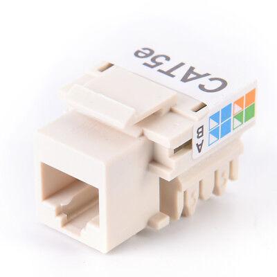 10X RJ45 CAT5e Keystone Jack Ethernet Netzwerkmodul WandsteckePPB