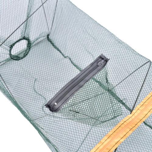 Trampa de cebo de pesca Dip de fundición Jaula de red Cangrejo Pez PescadoGK 6