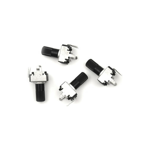 10pcs HGV09 5-100K Potentiometer Adjustable HGesistance 12.5mm Shaft 3PinB1