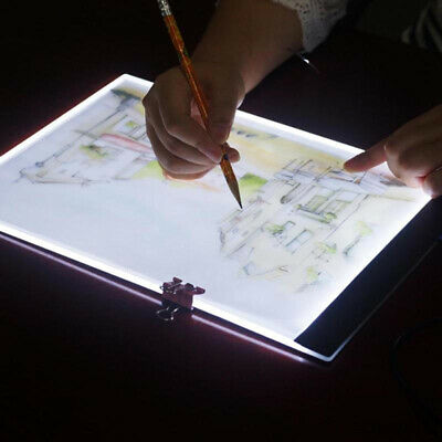 A5 led drawing tablet art stencil drawing board light box tracing table pad TE 7