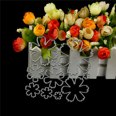 10Pcs Flower Design Metal Cutting Die For DIY Scrapbooking Album Paper Cards~GN 2