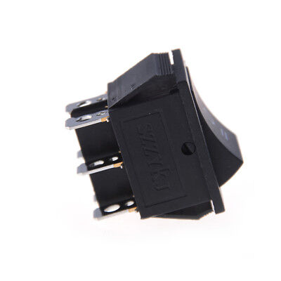 2X KCD4 Rocker Switch Black DPDT ON//OFF//ON 6 PIN 16A//250VAC 20A//125VAC  new FHH