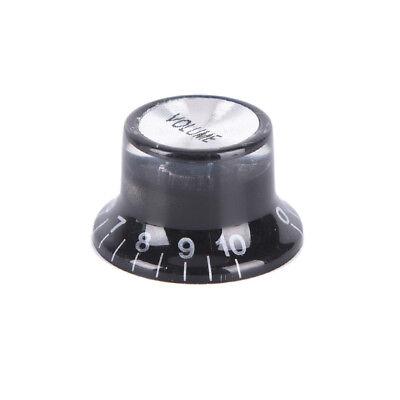 O6I4 Black // White 1 Set Of 4 Guitar Speed Control Knobs Volume Tone Knobs