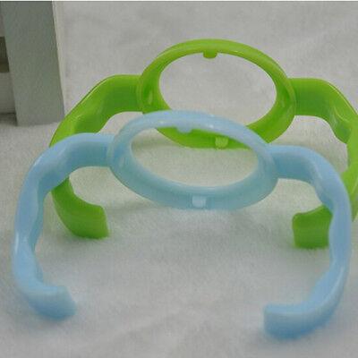 Baby Cup Feeding Bottle Trainer Easy Grip Standard Plastic Handles Holder HF ^P 4