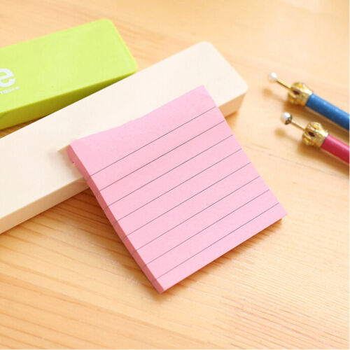 Sticky Notes Notebook Memo Pad Bookmark Paper Sticker Notepad Stationery Cl 5
