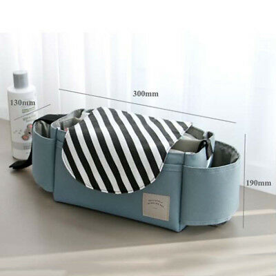 1X Universal Baby Trolley Storage Bag Stroller Cup Carriage Pram Buggy Organizer 6