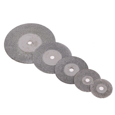 5 Pc Dental Ultra-Thin Sand Diamond Disc Wheel Porcelain Teeth Cutting.PolishiES 3