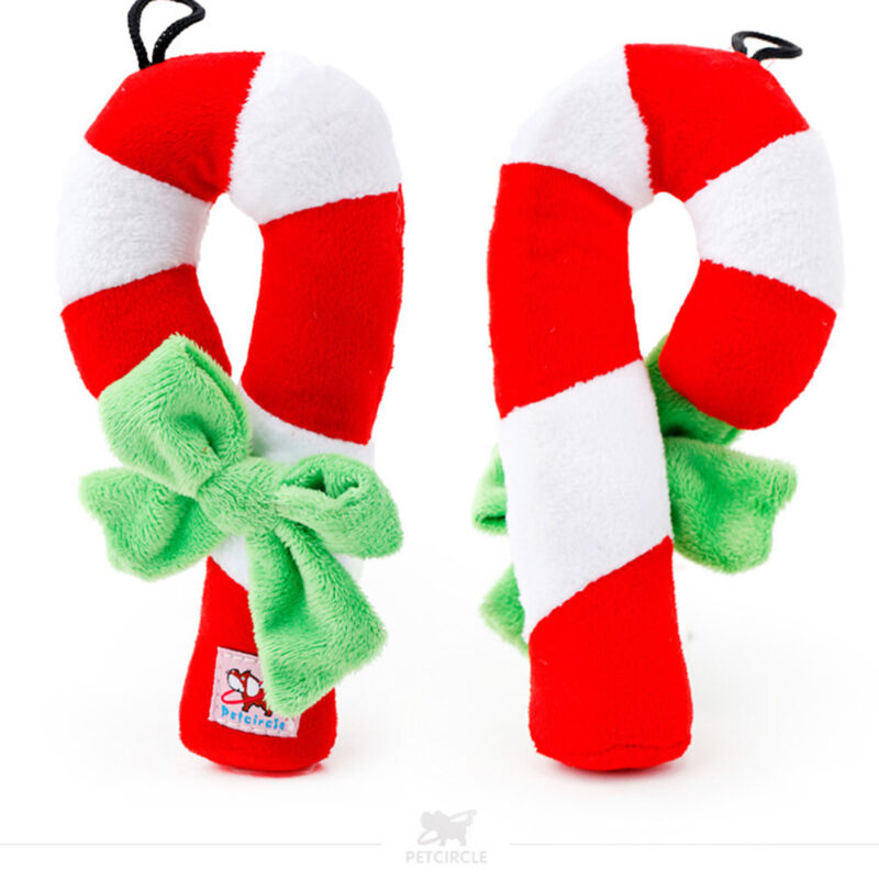 Christmas Chew Toy Festival Pet Puppy Doggy Chew Squeeze Training Toys W6 2