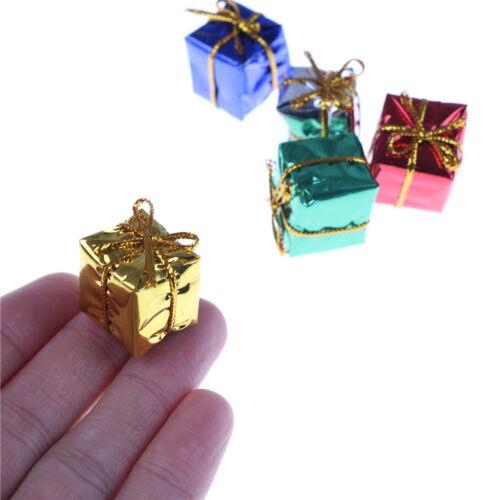 10X Dollhouse Miniature Box Christmas Dollhouse Decoration Gift Toy  @M 5