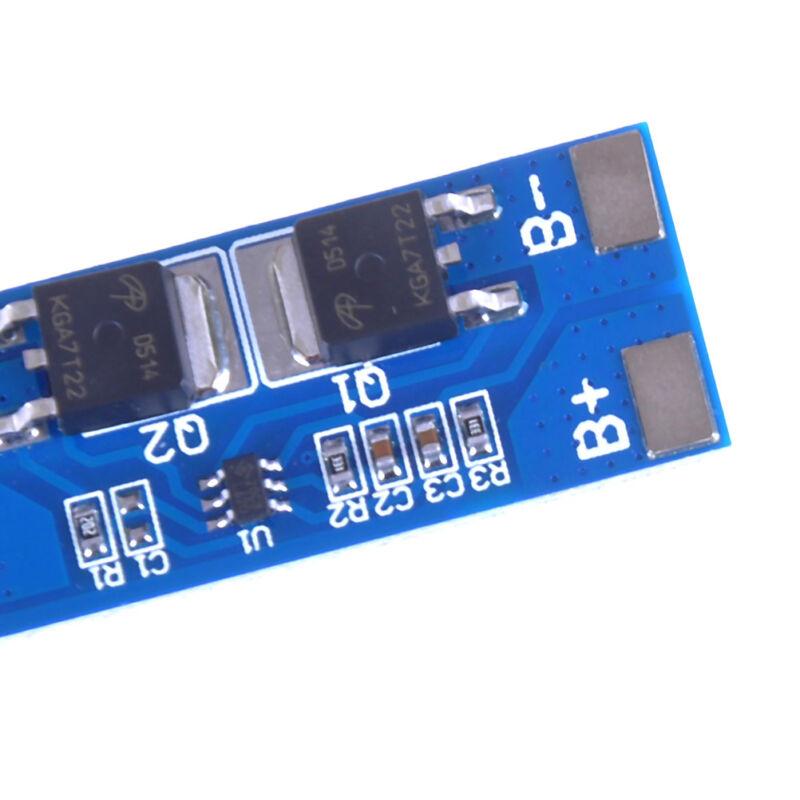 2S 8A 7.4V w/ Balance 18650 Li-ion lithium battery BMS charger protection boa Nj 8