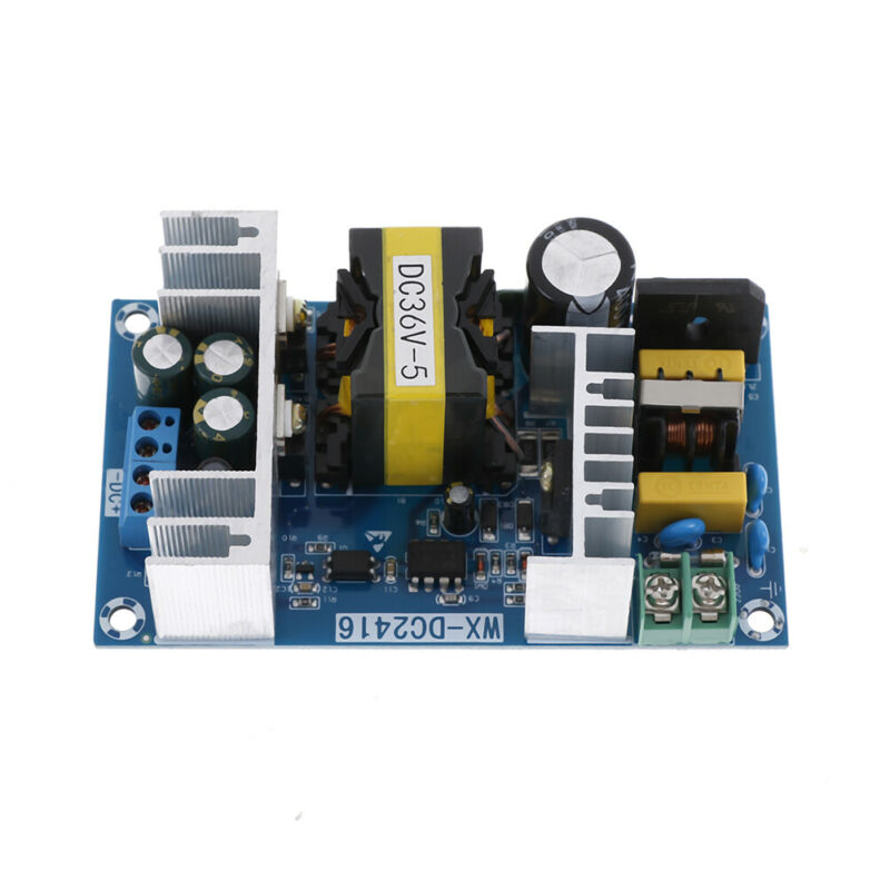 AC-DC 100-240V to 36V 5A 180W 50/60HZ Power Supply Switching Board Module dnTEC 2