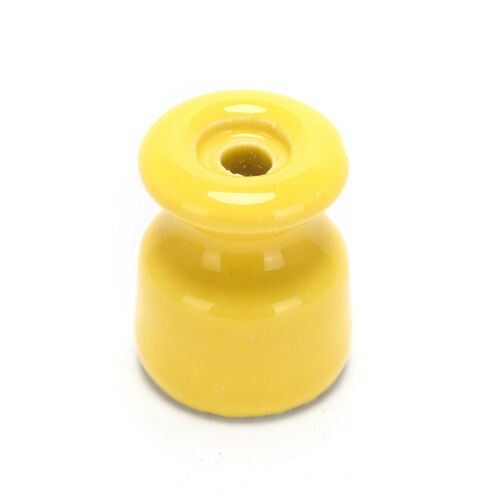 5Pcs/lot Porcelain Insulator for Wall Wiring Ceramic Insulators FO 6