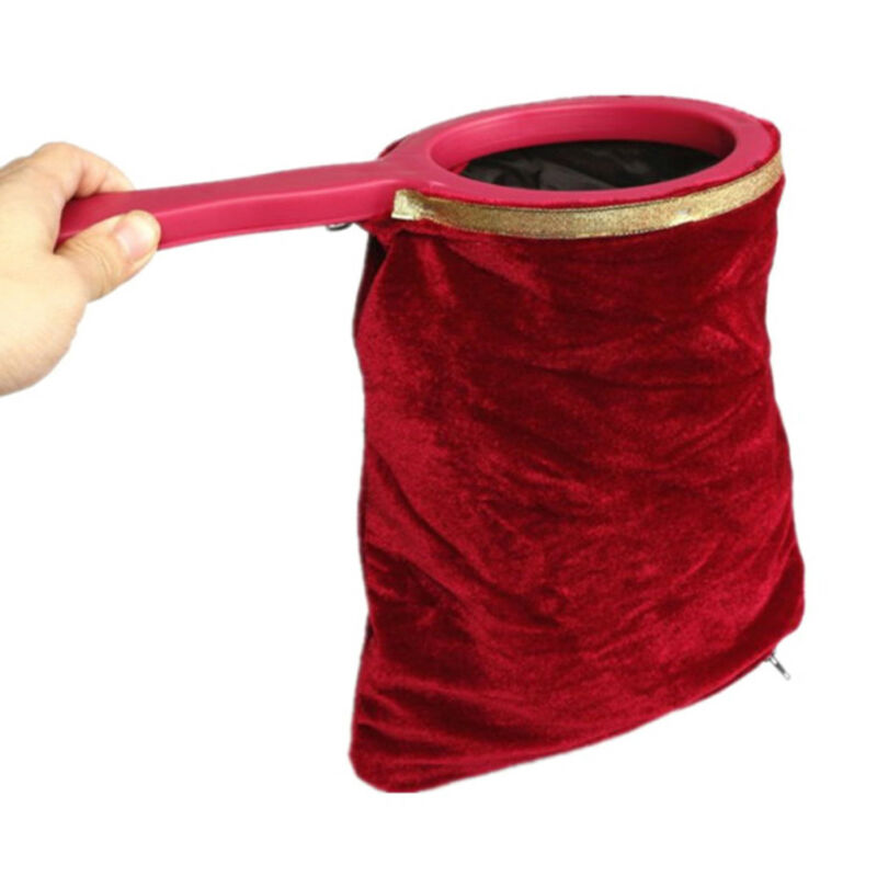 Handle appear disappear magic prop magicians stage change bag magic trick FBB