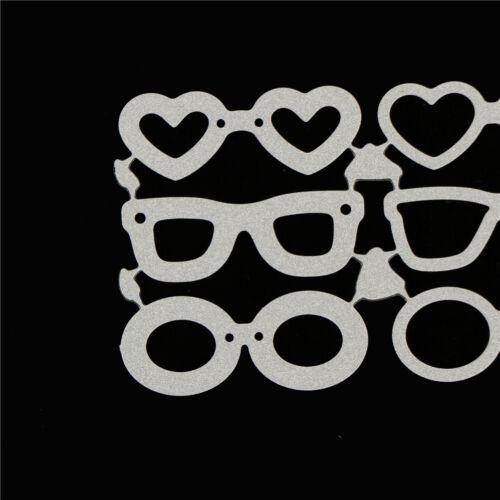 Beach sunglasses Metal Cutting Dies Stencil for DIY Scrapbooking Album Cards KY 7