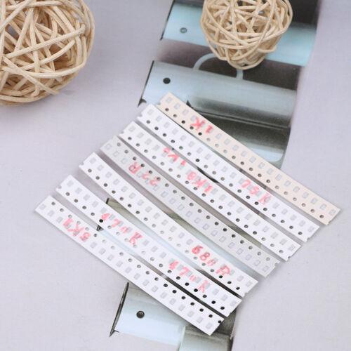 0805 SMD resistor kit assorted kit 1ohm-1M ohm 1/% 33values x 20pcs=660pcs VU