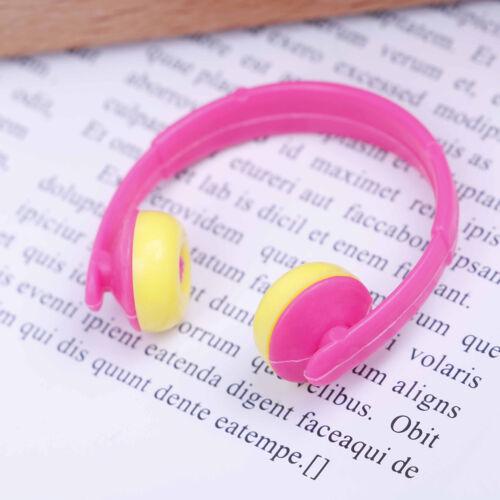 5PCS For Doll acessories plastic headphones multicolor mixed Pip CABLCA 6