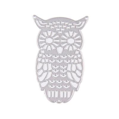 Owl Metal DIY Cutting Dies Stencil Scrapbook Album Paper Card Embossing Craft-# 8