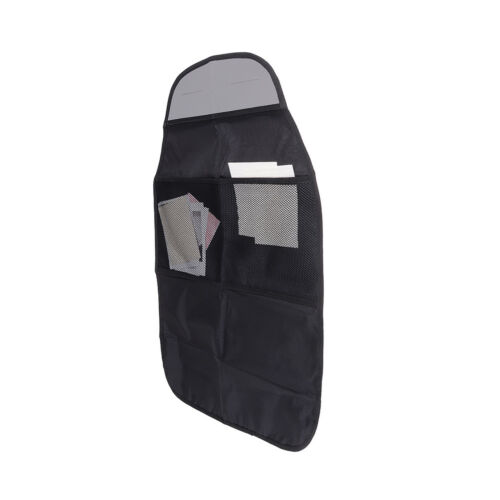 Car seat back protector cover kids kick clean mat protects storage bags VH