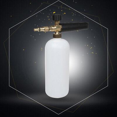 Snow Foam Lance Cannon Pressure Washer Gun Car Foamer Wash Bottle AdapterSe TKC 4