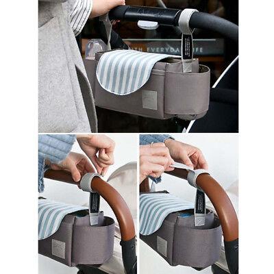 1X Universal Baby Trolley Storage Bag Stroller Cup Carriage Pram Buggy Organizer 7