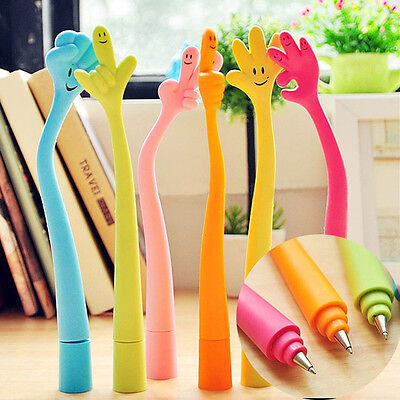 Funny Novelty Ball point Pen Bent Finger Nurse Doctor Student Creative Gifts 2