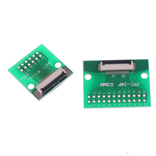 1,0 mm 2 Seiten SMD-Adapter Plates DIP30 10St/ück FPC//FFC-30P bis 0,5 mm