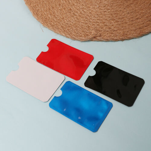 10pcs colorful RFID credit ID card holder blocking protector case shield cover—H 2