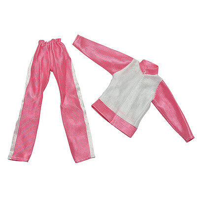 2 Pcs/Set Handmade Sports Doll's Clothes Coat Pant For s Baby Gifts  ÖÖ 6