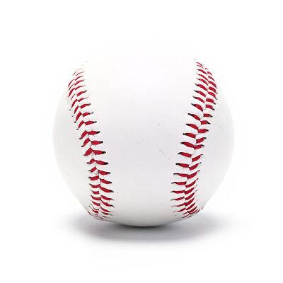 Balls Palla Da Baseball In Pelle Ecopelle Palle Allenamento Sport Softball Bianca