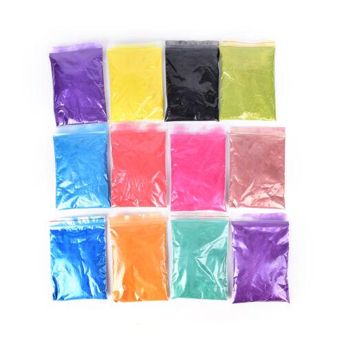 50 g DIY Mineral Mica Pulver Seife Farbstoff glitzernde Seife Colorant PearlbZP