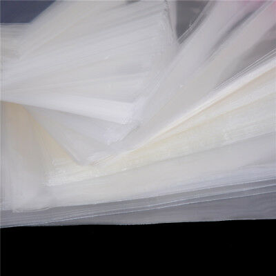 100Pcs/Bag OPP Clear Seal Self Adhesive Plastic Jewelry Home Packing Bags X 6