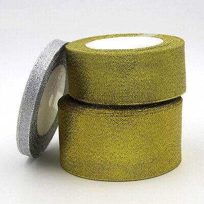 Silk Satin Ribbon 25yards Wedding  Party FestiveDecorationCraftGifts&Wrapping Jn 5
