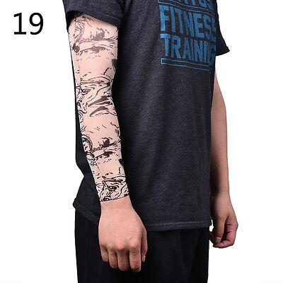 Nylon Fake Calze temporanee del braccio del tatuaggio per le donne degli uomini