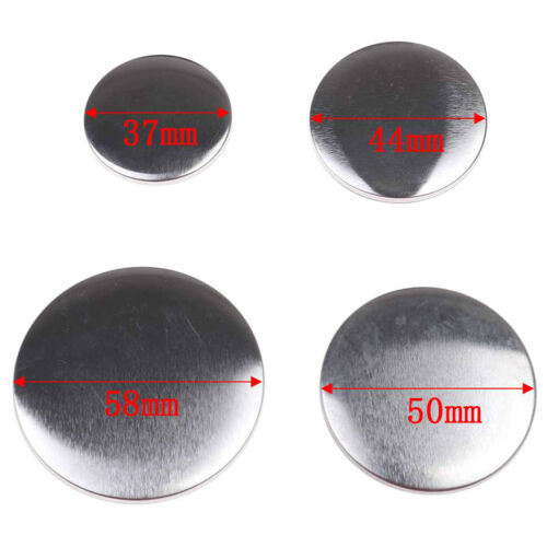 10Pcs 37Mm 44Mm 50Mm 58Mm Badge Button Cover Parts Supplies For Maker Machine UK