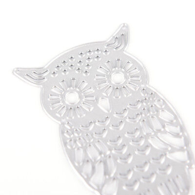 Owl Metal DIY Cutting Dies Stencil Scrapbook Album Paper Card Embossing Craft-# 7