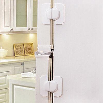 Refrigerator Fridge Freezer Door Lock Latch Catch for Toddler Child Safety o ¾! 4