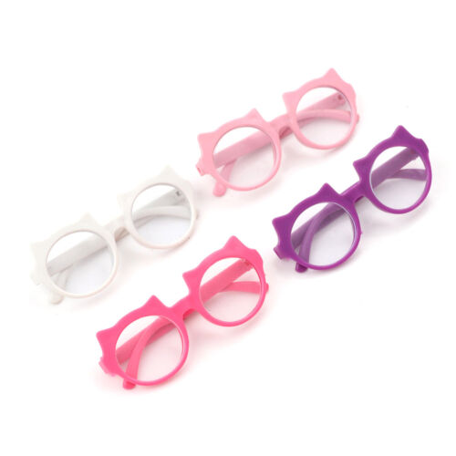 Doll Glasses Colorful Glasses Sunglasses Suitable For 18Inch American Dolls+v 3