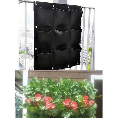 Flower & Plant Pots, Baskets & Window Boxes Plant Care Supplies, Soil & Accessories 6/7 Pocket Vertical Greening Hanging Wall Garden Plant Grow Pot Bag Plant WSVT