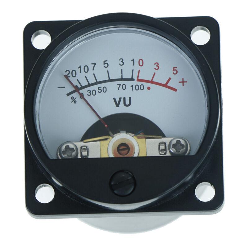 6-12V panel VU meter bulb warm back light recording audio level amp meter SPFR 3