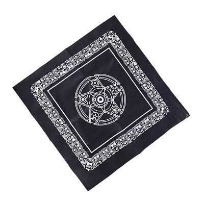 49*49cm pentacle tarot game tablecloth board game textiles tarots table cover HU 2