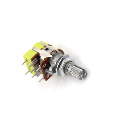 B50K 50K Ohm Dual Linear Taper Volume Control Switches Potentiometer Switch BHCA