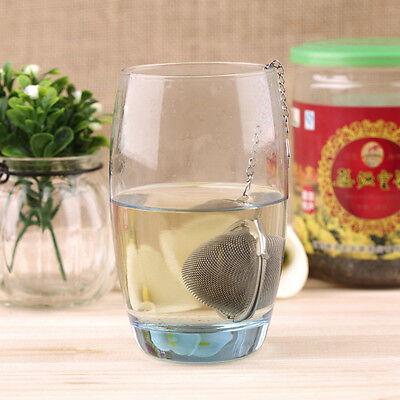 En acier inoxydable bouilloires thé sphère oeuf forme boule maille infuser 10