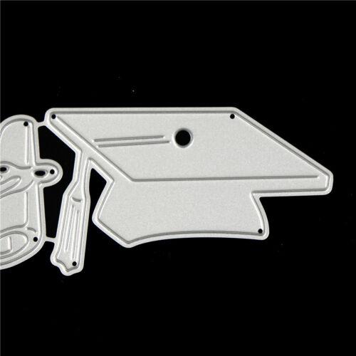 Doctor Cap Design Metal Cutting Dies For DIY Scrapbooking Album Paper Cards GK 5