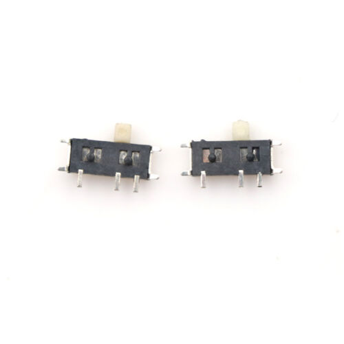 20pcs Mini Slide Switch On-OFF 2Position Micro Slide Toggle Switch SMD  AB
