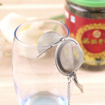 En acier inoxydable bouilloires thé sphère oeuf forme boule maille infuser 2