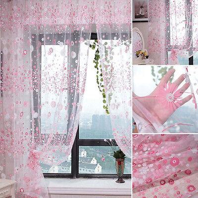 prix d'usine nouvelle arrivee texture nette PETITE FLEUR FLORALE Tulle voile porte Rideau rideaux voilage bandeau